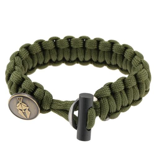 Langlebige vielseitig und modisch Paracord Armband mit Firestarter Survival Kit Armband für Outdoor-Aktivitäten
