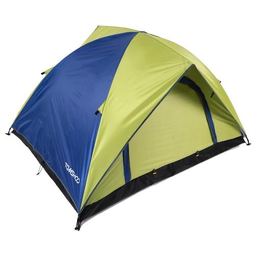 TOMSHOO doppio strato doppia porta Campeggio tenda tempo libero tenda 200 * 150 * 115 cm