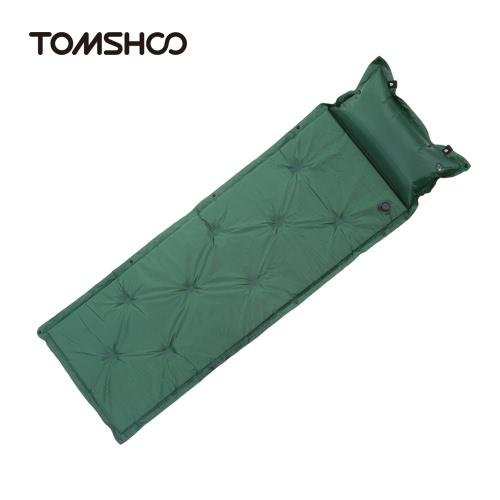 TOMSHOO Outdoor-Camping-Thick automatische aufblasbare Matratze selbstfüllende Zelt-Matten-Picknick-Matte mit Kissen