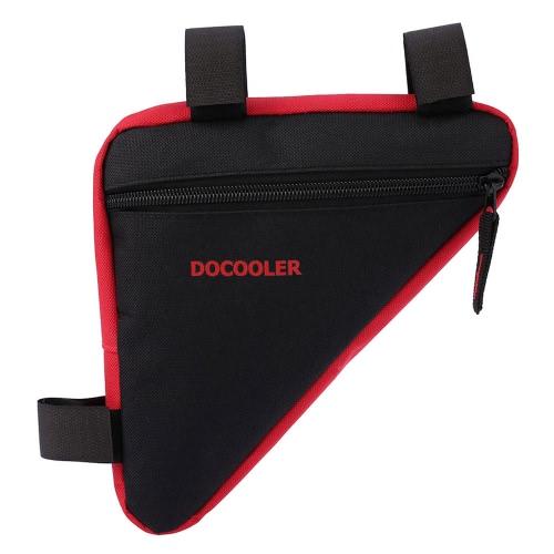 Docooler Triángulo bicicleta de la bici delantera de una silla del marco del tubo bolsa del sostenedor del bolso al aire libre