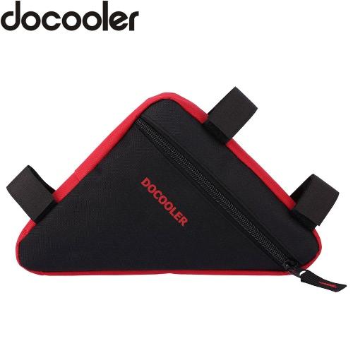 Docooler Dreieck Radfahren Fahrradlampe vor Sattelrohr-Rahmen-Beutel-Beutel-Halter-Außentasche