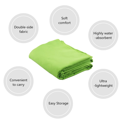 Lixada Beach Blanket Yoga Blanket Towels Ultra-thin with Conner Anchor Pockets Large Fits for Two