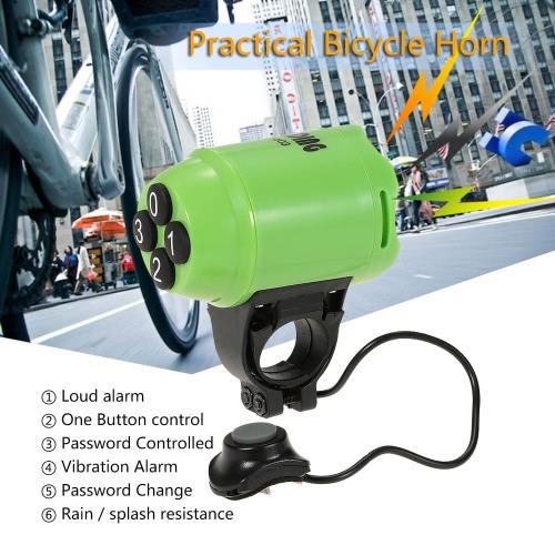 Lightweight Bicycle Horn Loud Electric Siren Alarm Cycling Bike Alarm Computer Electronic Horn