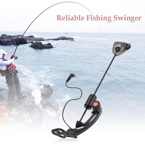 1pc LED Carp Fishing Swinger gancio Illuminato Swinger sensore Swinger Illuminato Bite Indicator morso di pesca di allarme Attrezzatura di pesca