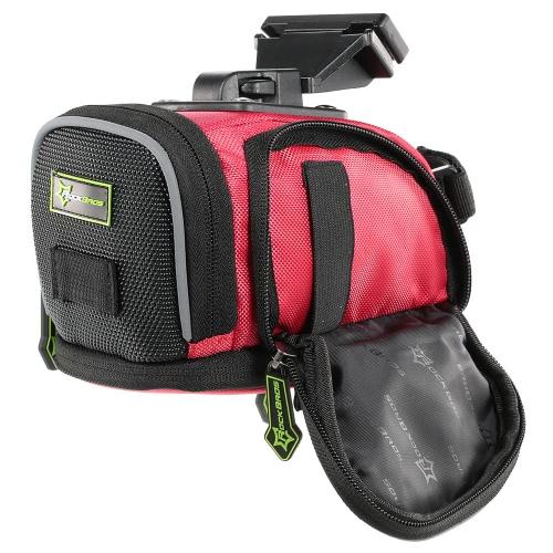 Bolsa de asiento Bolsa ROCKBROS Repelente de agua al aire libre bici del camino de la silla de montar de la bicicleta MTB de cola trasera de la bolsa del paquete