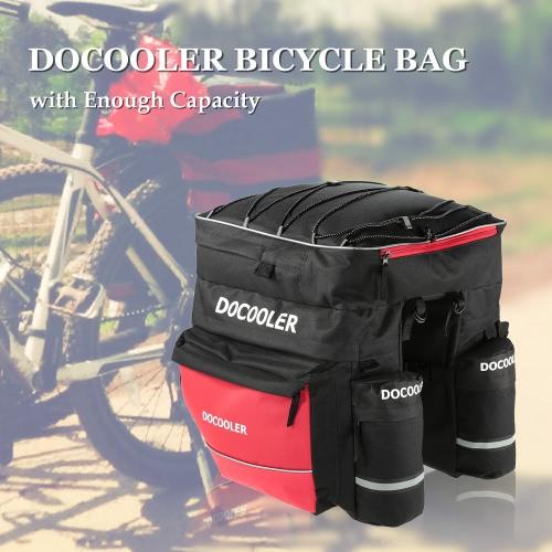 Docooler Borsa bici Ciclismo bicicletta Borsa posteriore Pouch Pack Trunk Bag Borse laterali