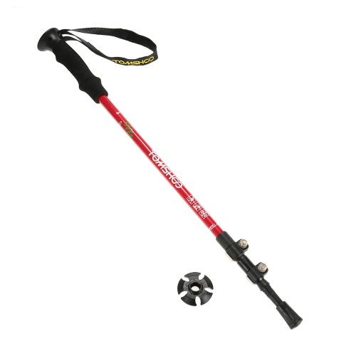 In fibra di carbonio leggera TOMSHOO Trekking Pole Antishock regolabile telescopico escursionismo bastone da passeggio 3 Sezione