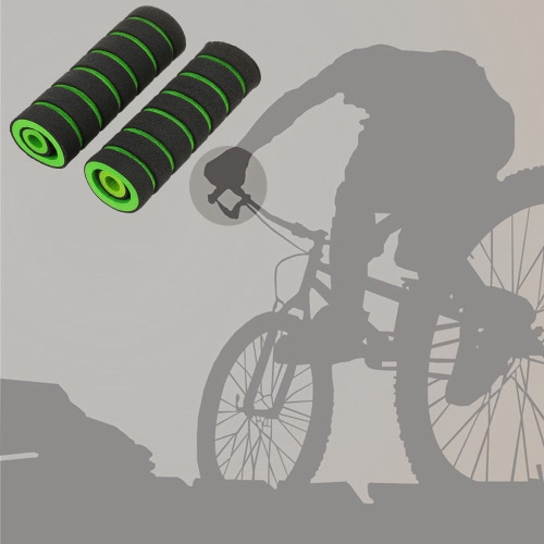二つの小さなブレーキバーグリップと2個のソフトアンチスリップハンドルグリップ自転車自転車スポンジハンドルバーグリップ