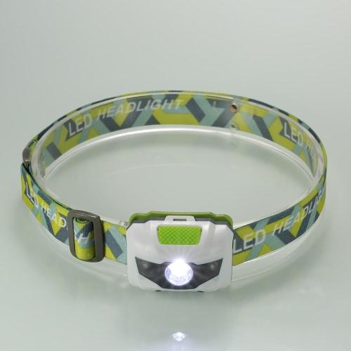 Outdoor LED-Scheinwerfer Scheinwerfer Taschenlampe Hauptlampen-Licht für Camping Wandern Joggen