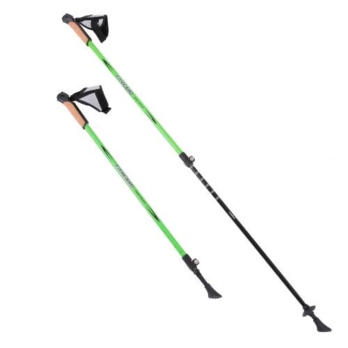 Flyingbird 1 Paar Einstellbare Anti Shock Wandern Trekking Wanderstöcke Alpen Sticks