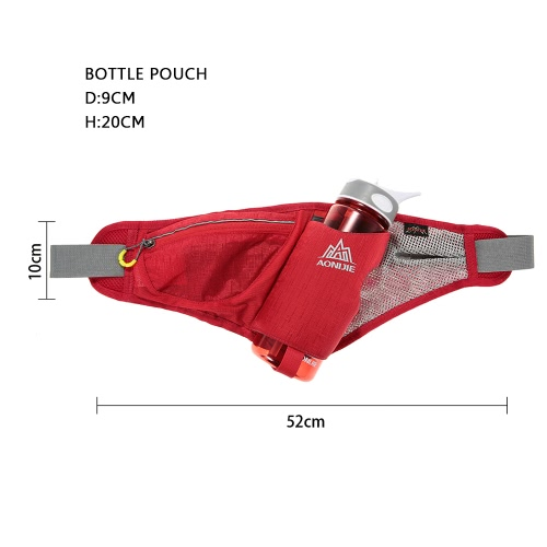 AONIJIE Multifunctional Unisex Outdoor Sport Waist Pack Riding Cycling Climbing Bag Pouch with 750ml Water Bottle