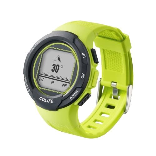 ランニングサイクリング運転を歩くためのGOLiFE GoWatch 110I GPSスポーツウォッチコンパスアクティビティトラッカー