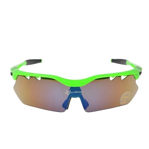 ROCKBROS поляризованные солнцезащитные очки Велоспорт очки очки 100% UV Блокировка очки очки Пешие прогулки Открытый очки 5 Линзы