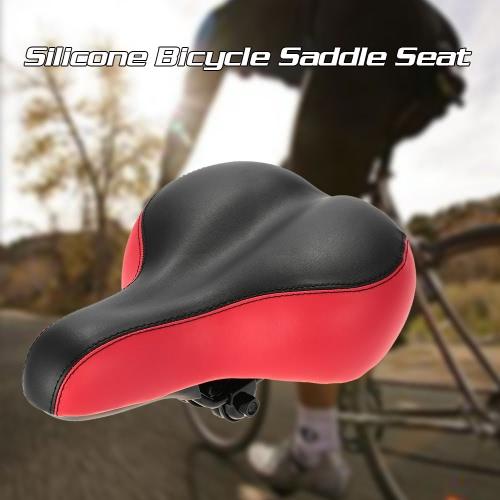 MTB Горный велосипед Велоспорт Силиконовые Skidproof Седло Silica Gel сидений Подушка сиденья велосипедов Седло