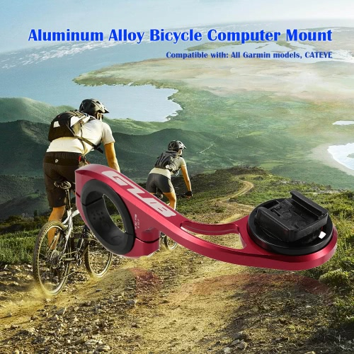 GUB lega di alluminio della bicicletta Mount computer del supporto del manubrio cronometro Contachilometri staffa di montaggio per Garmin per CATEYE