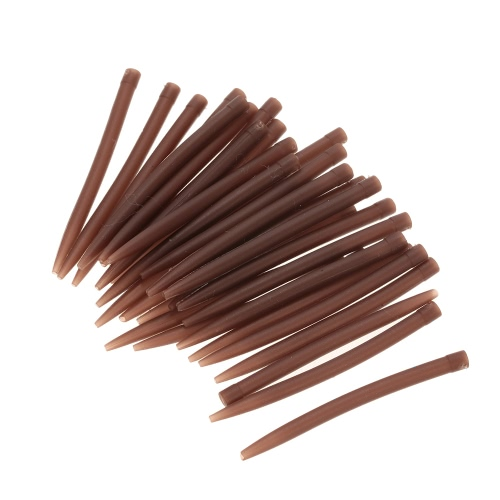 30pcs / 50pcs 54mm Anti Tangle Gummi Ärmel Connect