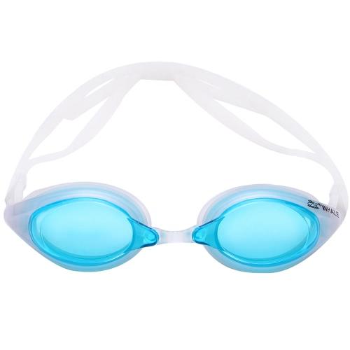 Uomo delle donne Glare riduzione specchio Coating occhialini da nuoto anti-fog protezione UV Costumi Occhialini da nuoto Sport Eyewear Occhiali con bagagli di caso per adulti