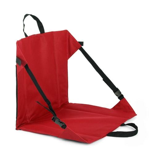 Regolabili portatile Escursionismo Alpinismo coricata Campo di seduta sedie da esterno senza telaio stuoia della sede pieghevole con 2 maniglia esterna Convenienza