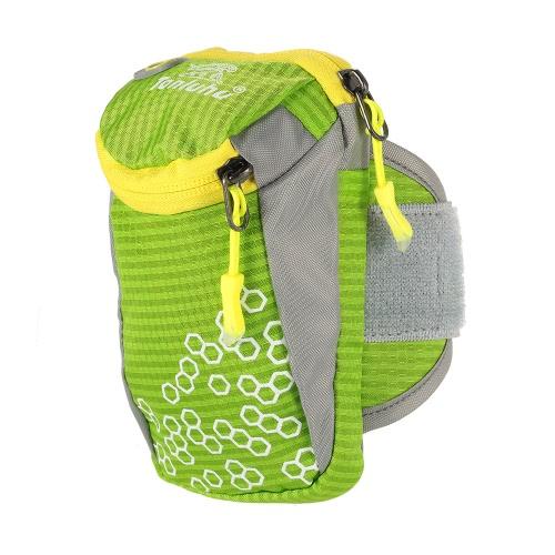 Tanluhu Outdoor Sport Armband esecuzione braccio Borsa da polso Custodia esercizio jogging Palestra acqua regolabile resistente Phone Bag Braccio di 6.0
