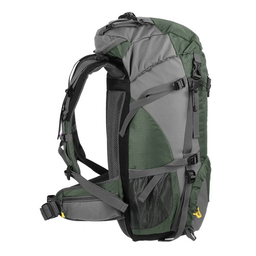 7235fcf6801b Lixada 50L Water Resistant Outdoor Sport Hiking Camping Travel Backpack  Pack Mountaineering Climbing Backpacking Trekking Bag Knapsack with Rain  Cover