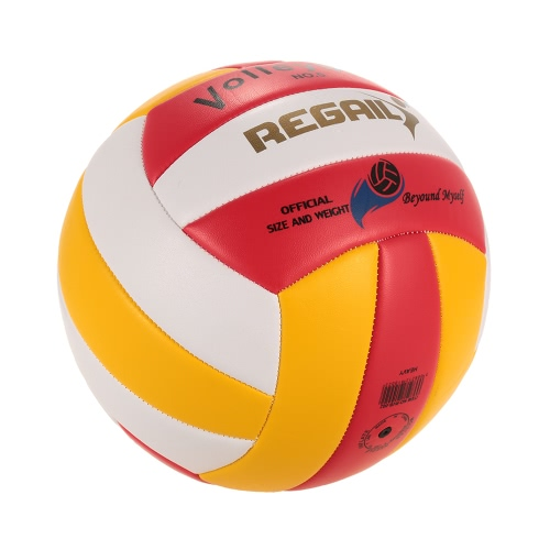 Offizielle Größe 5 PU Volleyball Soft-Touch-Volleyball Indoor Outdoor Trainingsball Spiel Strand Gym-Spielball