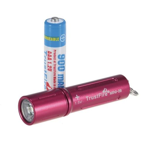 TrustFire Portable 90LM torcia elettrica Compact Keychain lampada Mini torcia tasca Penlight per il campeggio in esecuzione ciclismo a piedi