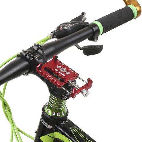 GUB Mountian Bike Phone Mount Universal Adjustable Bicycle Cell Phone GPS Mount Holder Bracket Cradle Clamp Image