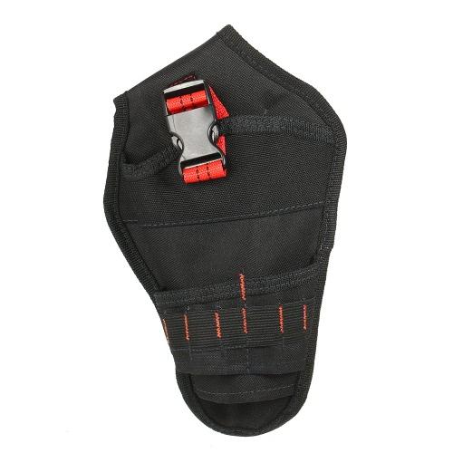 Beweglicher Werkzeug-Beutel-Schlag-Fahrer-Bohrgerät-Holster-hochwertiger Segeltuch-Elektriker-Taillen-Taschen-Garten-Werkzeug-Gurt-Beutel-deluxer drahtloser Poly-Bohrgerätbeutel