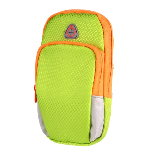 Sport universale Sport Bracciale impermeabile spalla sport all'aria aperta corsa borsa da polso sacchetto borsa per chiavi telefono cellulare piccole cose escursioni a piedi