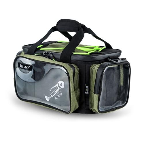 Multifunktionale Angelgerät-Tasche Outdoor-Sport-Angeln Schultertasche Köder Tackle Box Gear Utility Storage Bag