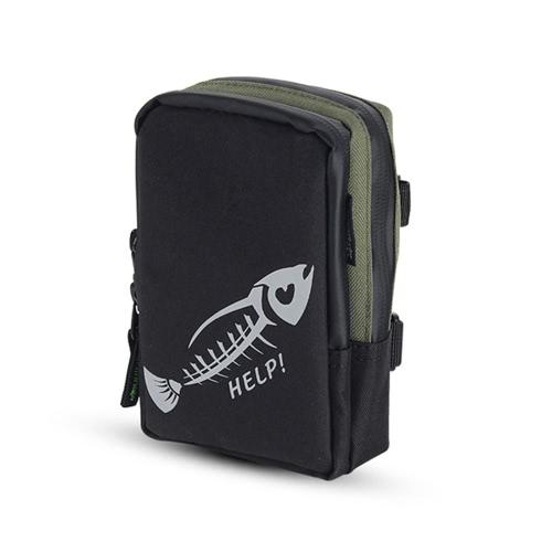 Fly Fishing Bag Портативный мини-рыболовный снасти Сумка для карманных рыболовных снастей Сумка на открытом воздухе Спортивная сумка
