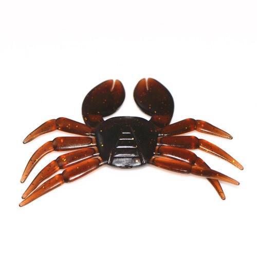 Lixada 5PCS 3D weiche Fischen lockt Krabbe Künstliche Köder Fischen Tackle