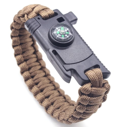 Umbrella Armband Outdoor Multifunktions-Handseil Camping Survival Notfall Armband