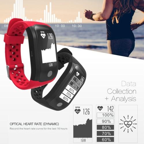 S908 IP68 Waterproof Sports Smart Bracelet