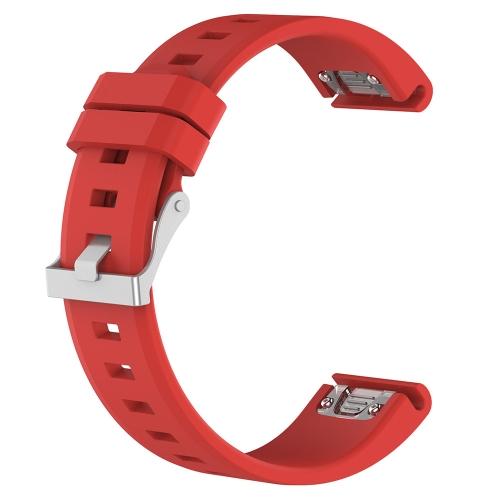 Band per Fenix5 Approach S60 Forerunner935 Multi-Sport Training GPS Watch Accessory Band Sostituzione cinturino con Pin Strumenti di rimozione per Garmin Fenix5 Smart Watch