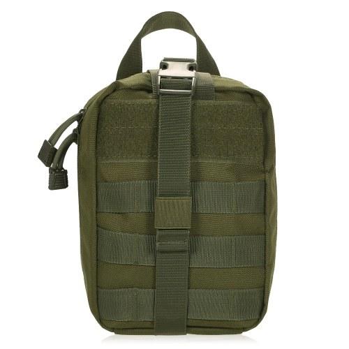 Lixada Outdoor MOLLE Medical Pouch Kit pronto soccorso Kit di pronto soccorso di emergenza