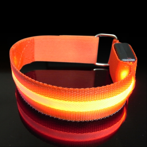 Cinghia riflettente a LED per escursioni in bicicletta