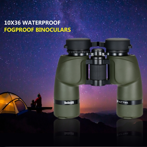 10x36 Binoculars Waterproof Fogproof Outdoor Sport Binoculars Telescope Wide Band Coated for Hunting Bird Watching Backpacking thumbnail