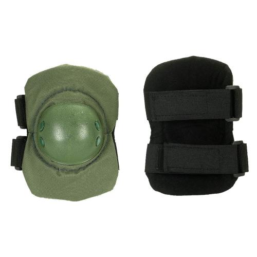 Lixada 2PCS Heavy Duty Outdoor Set di protezioni avanzate con ginocchiere e gomitiere per gomitiere da pattinaggio regolabili Paintball