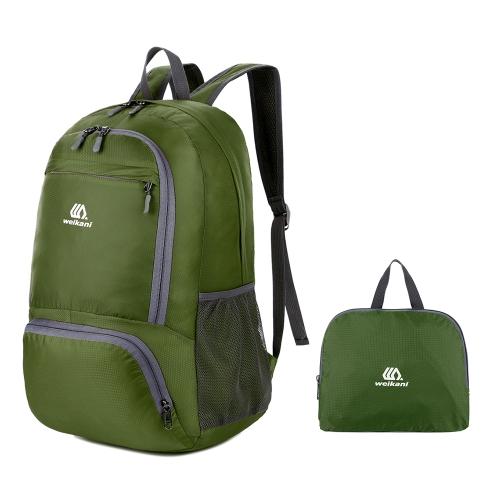 Leichter Packable Rucksack Wasserdicht Faltbarer Reiserucksack Daypack Tasche Outdoor Sport Camping Wandern Radfahren