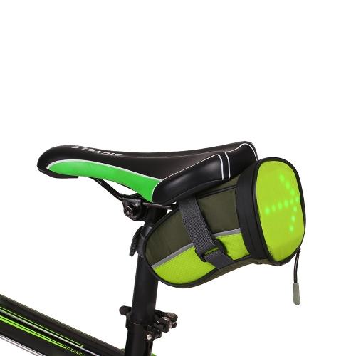 Sella per bicicletta leggera USB Lixada