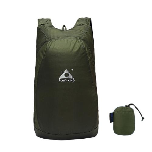 20L leichte Packable Rucksack Faltbare Outdoor Camping Wandern Radfahren Handliche Reisetasche Tasche