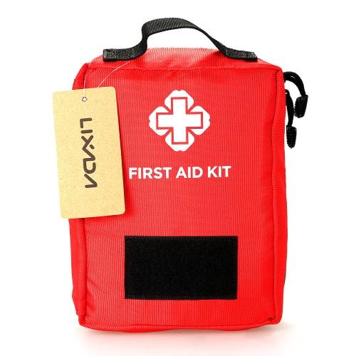 Kit di pronto soccorso Lixada Borsa vuota Borsa di sopravvivenza di emergenza Custodia di custodia medica Custodia di medicina Pacchetto tasca