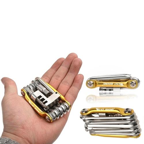 Mountain Bike Multi-function Tool Combination Cycling Equipment Portable Repair Kit