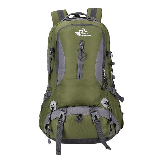 40L resistente al agua senderismo Camping mochila al aire libre Sport Travel Laptop Daypack para hombres mujeres
