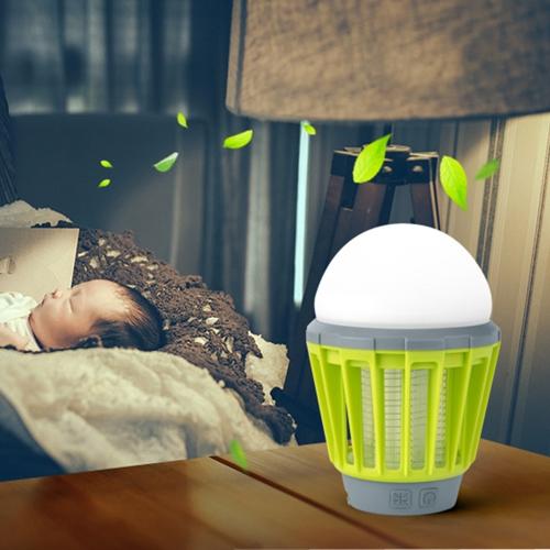 180 Lumens Portable Waterproof Electronic Photocatalyst Mosquito Lamp