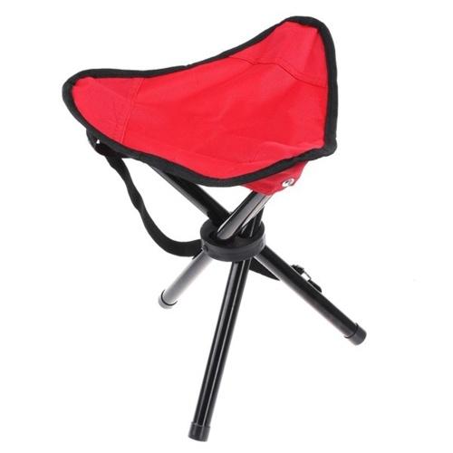 Cadeira dobrável portátil do tripé