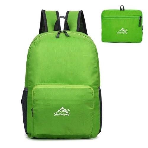 25L Ultra Lightweight Rucksack Wasserabweisend Daypack Faltbare Außentasche für Camping Reisen Wandern