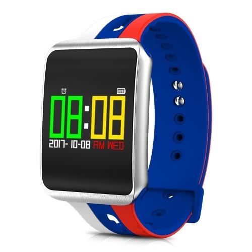 Image de Smart Watch Ultra Long Temps de Veille Montre Smart Watch Distance Calorie Message Rappel Cardiofréquencemètre Test de Pression Artérielle Running Escalade Fitness Sport Smart Bracelet Célébrez pour la Coupe du Monde