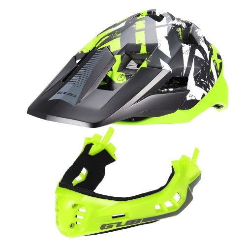 GUB Detachable Full Face Helmet